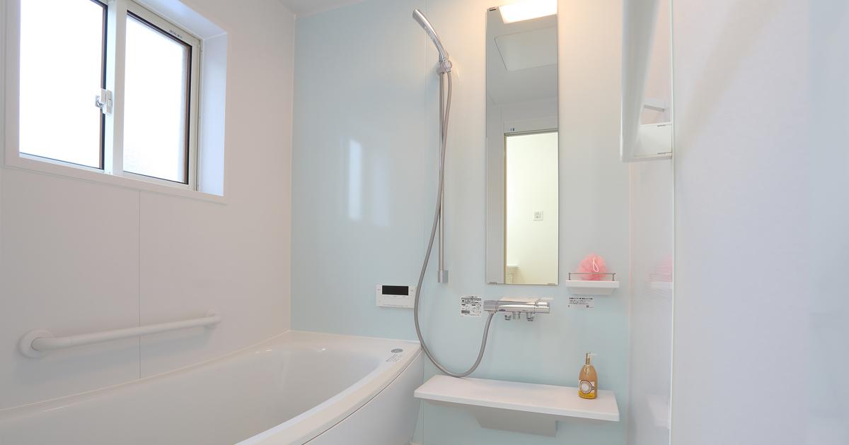 浴室の隠れたエリア、エプロン